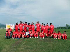 サッカー大会で初めての勝利!